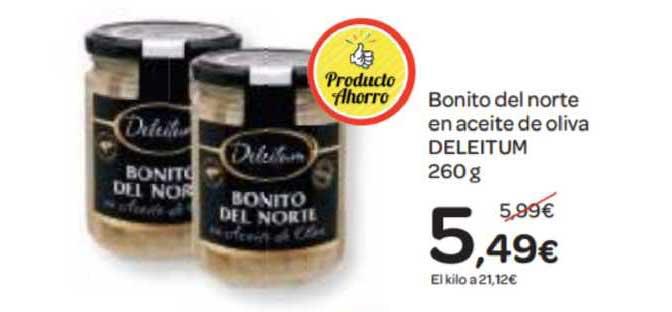 Dialprix Bonito Del Norte En Aceite De Oliva Deleitum