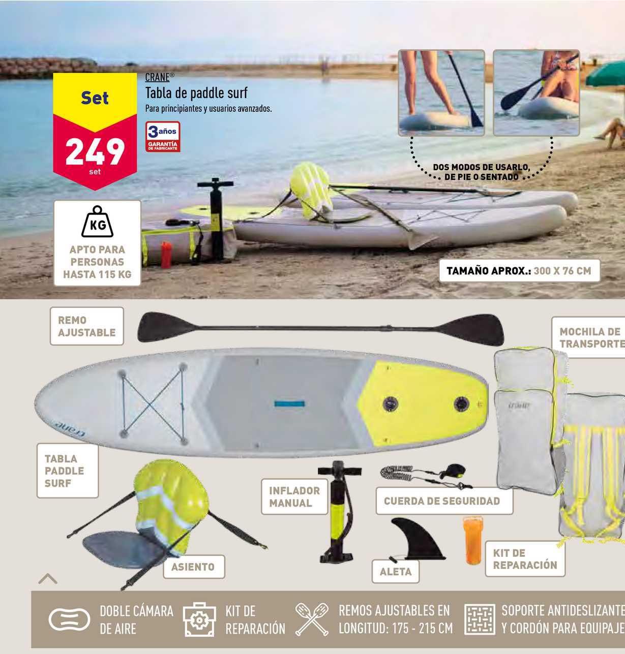 ALDI Crane Tabla De Paddle Surf