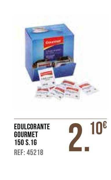 Gros Mercat Edulcorante Gourmet 150 S. 1g