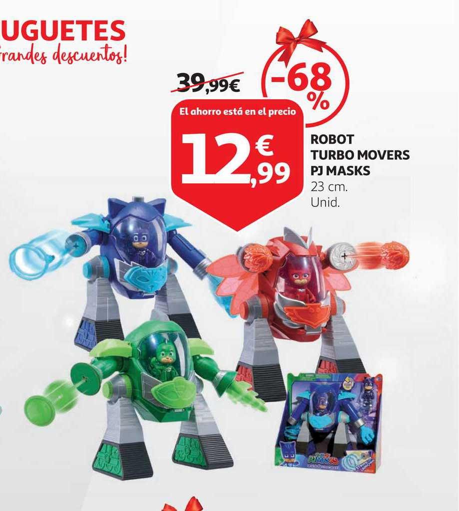 Alcampo -68% Robot Turbo Movers Pj Masks