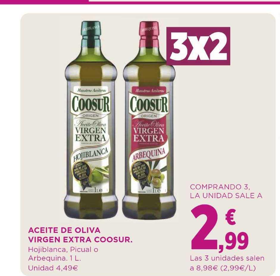 Supercor 3x2 Aceite De Oliva Virgen Extra Coosur