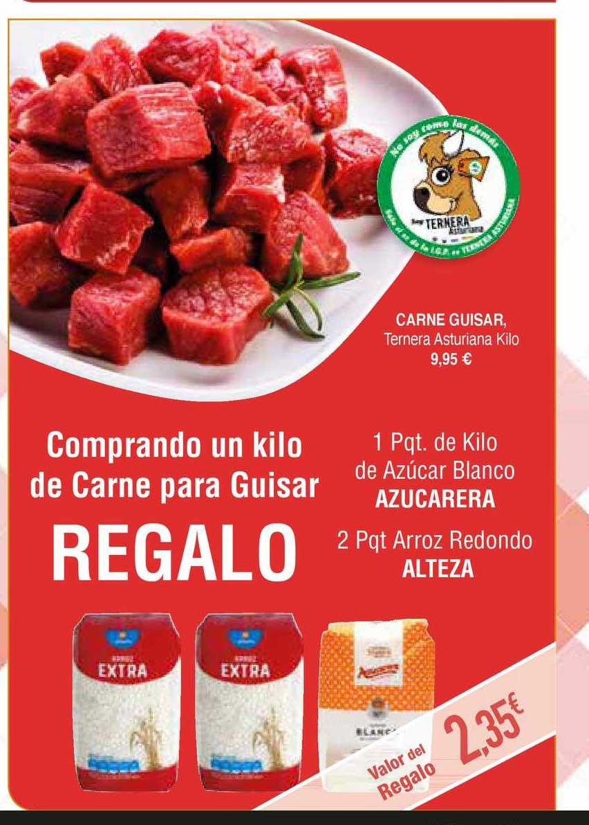 Masymas Carne Guisar, Ternera Asturiana Kilo