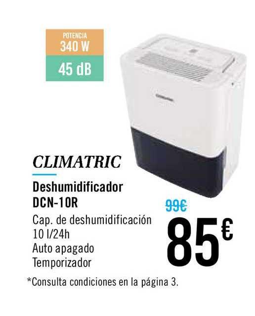 Carrefour Climatric Deshumidificador Dcn-10r