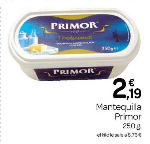 Supermercados El Jamón Mantequilla Primor
