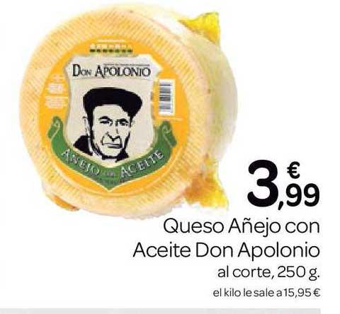 Supermercados El Jamón Queso Añejo Con Aceite Don Apolonio