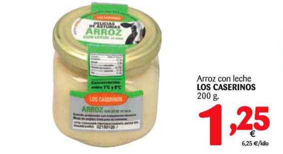 Alimerka Arroz Con Leche Los Caserinos 200 G