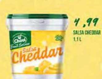 Gros Mercat Chovi Salsa Cheddar 1,1 L
