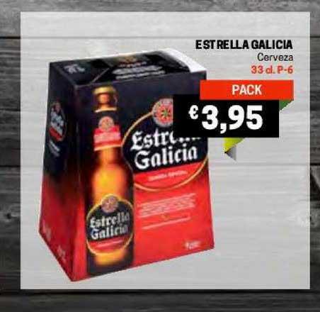Gros Mercat Estrella Galicia Cerveza 33 Cl