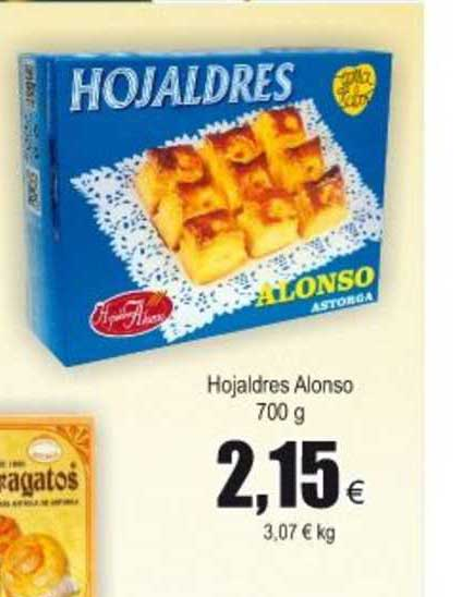 Froiz Hojaldres Alonso 700 G