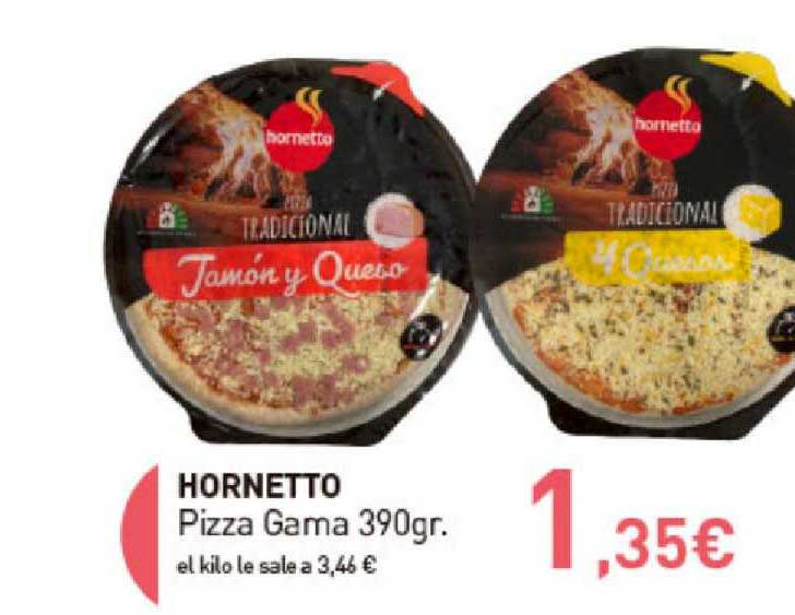 Primaprix Hornetto Pizza Gama 390gr.
