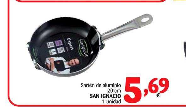 Alimerka Sartén De Aluminio 20 Cm San Ignacio