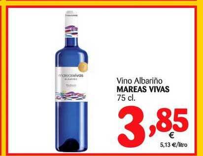 Alimerka Vino Albariño Mareas Vivas 75 Cl