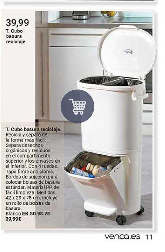 Venca Cubo Basura Reciclaje
