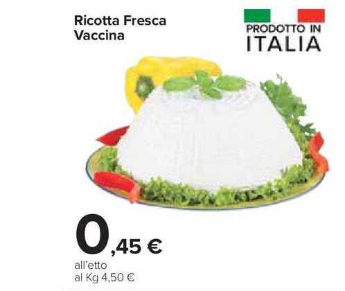 Carrefour Market Ricotta Fresca Vaccina