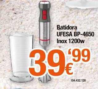 Expert Batidora Ufesa Bp-4650 Inox 1200w