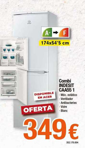 Expert Combi Indesit Caa55 1