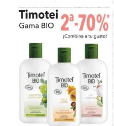 Clarel 2ª -70% Timotei Gama Bio ¡Combina A Tu Gusto!
