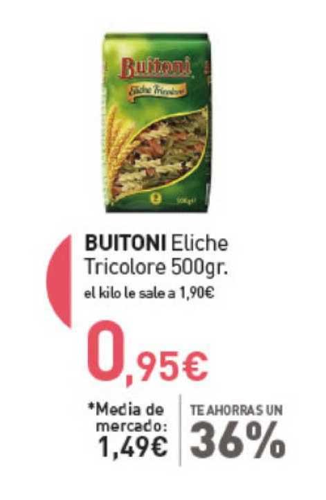 Primaprix Buitoni Eliche Tricolore 500gr.