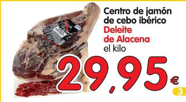Alimerka Centro De Jamón De Cebo Ibérico Deleite De Alacena El Kilo