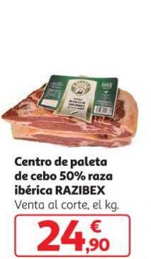 Alcampo Centro De Paleta De Cebo 50% Raza Ibérica RAZIBEX