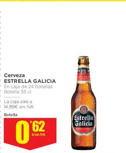 Makro Cerveza Estrella Galicia Botella 33 Cl