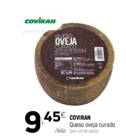 Coviran COVIRAN Queso Oveja Curado