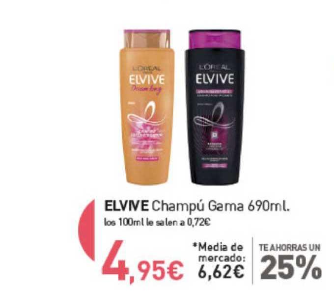 Primaprix Elvive Champú Gama 690ml