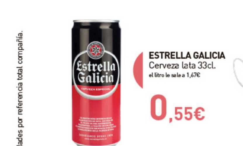 Primaprix Estrella Galicia Cerveza Lata 33 Cl
