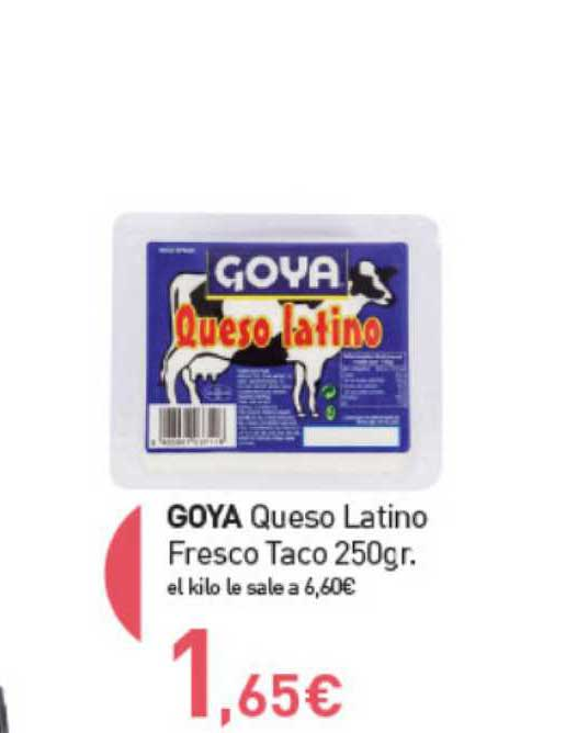 Primaprix Goya Queso Latino Fresco Taco 250 Gr.