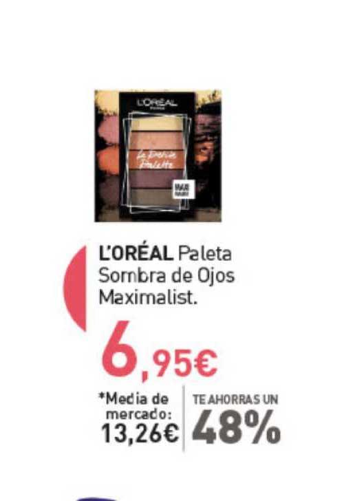 Primaprix L'Oréal Paleta Sombra De Ojos Maximalist