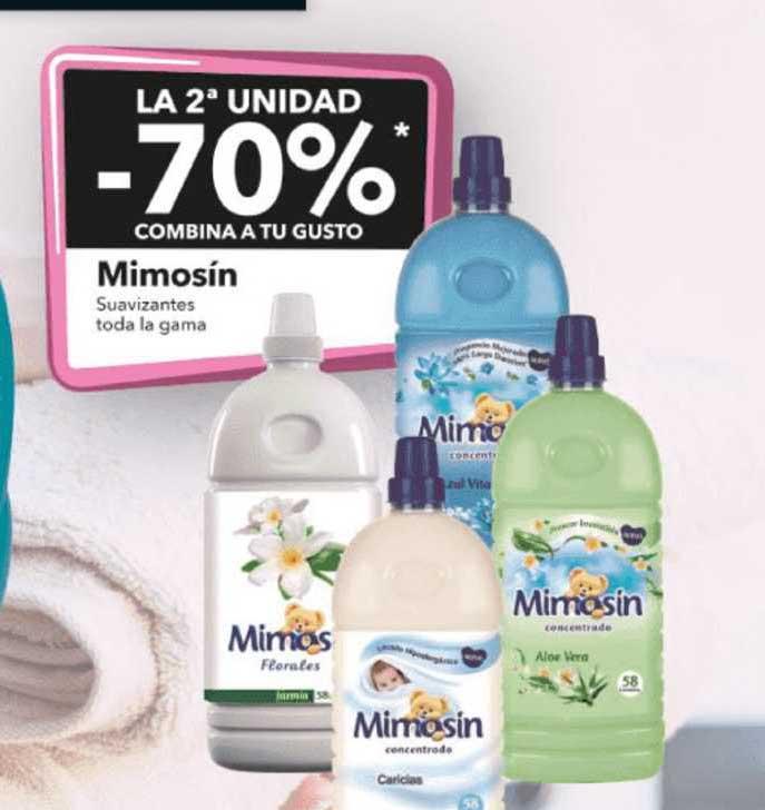 Clarel La 2ª Unidad -70% Mimosín Suavizantes Toda La Gama