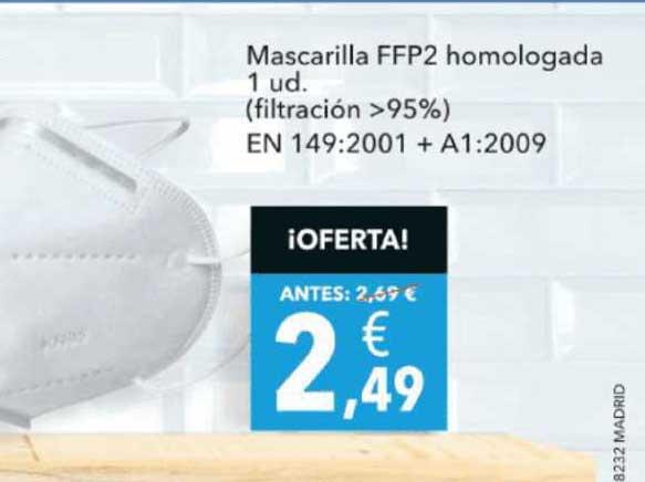 Clarel Mascarilla FFP2 Homologada 1 Ud.