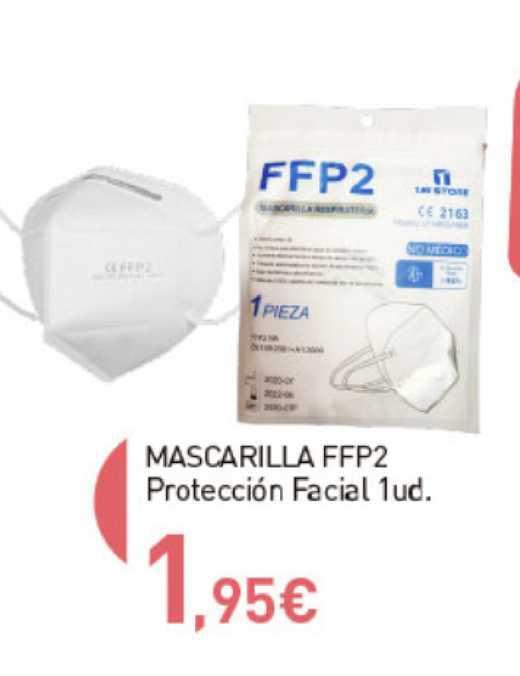 Primaprix Mascarilla FFP2 Protección Facial 1 Ud.