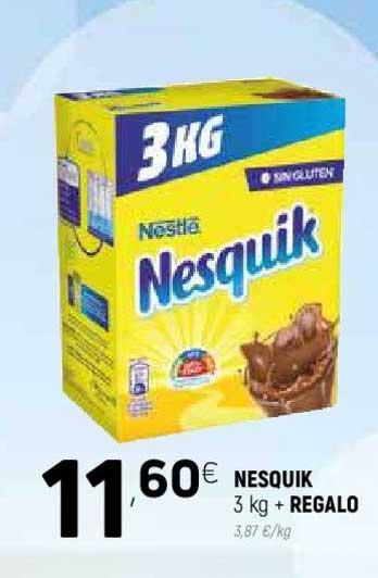 Coviran Nesquik 3 Kg + REGALO