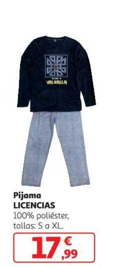Alcampo Pijama LICENCIAS