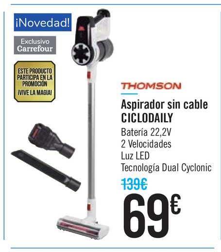 Carrefour Thomson Aspirador Sin Cable Ciclodaily