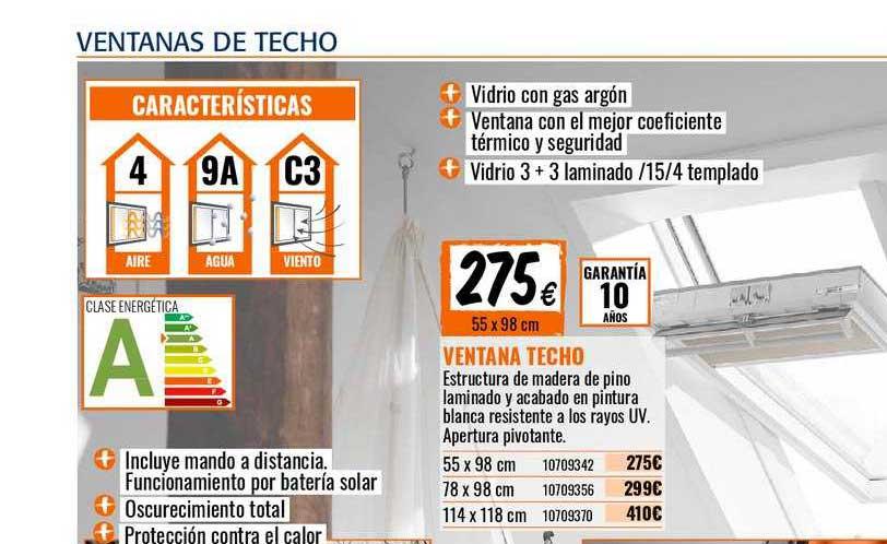 Oferta Ventana Techo En Bricomart