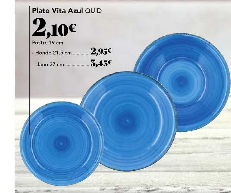 Gadis Plato Vita Azul Quid