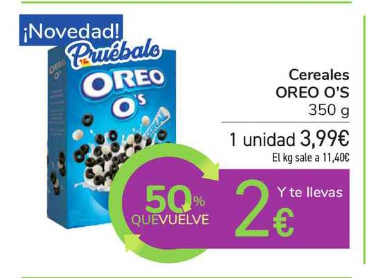 Carrefour Cereales Oreo O's