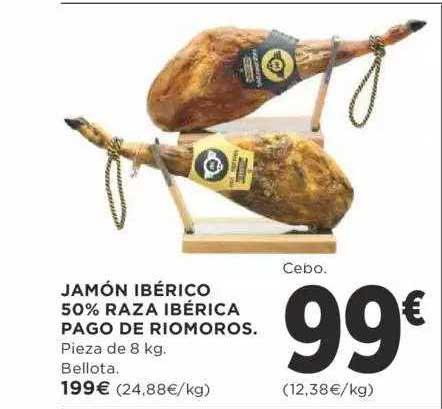 Supercor Jamón Ibérico 50% Raza Ibérica Pago De Riomoros