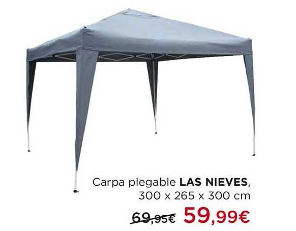 Hipercor Carpa Plegable Las Nieves 300 X 265 X 300 Cm