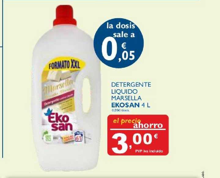 Cash Ecofamilia Detergente Liquido Marsella Ekosan