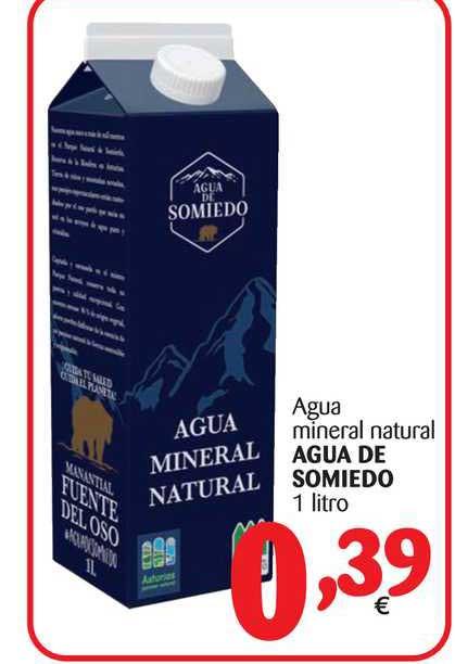 Alimerka Agua Mineral Natural Agua De Somiedo