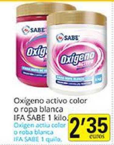 Supermercados Bip Bip Oxigeno Activo Color O Ropa Blanca Ifa Sabe