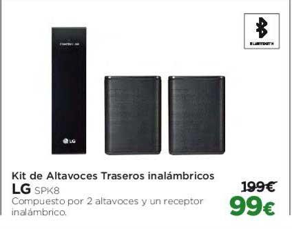 El Corte Inglés Kit De Altavoces Traseros Inalámbricos LG SPK8