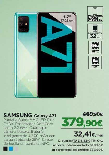 El Corte Inglés SAMSUNG Galaxy A71