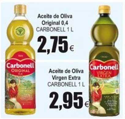Froiz Aceite De Oliva Original 0,4 CARBONELL 1 L ∕ Aceite De Oliva Virgen Extra CARBONELL 1 L