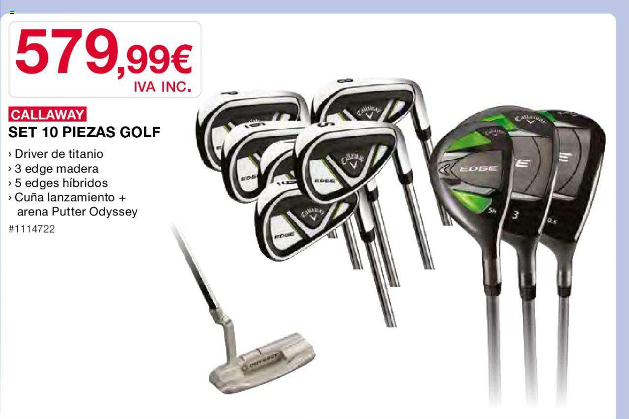 Costco Callaway Set 10 Piezas Golf