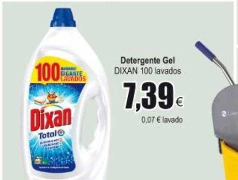 Froiz Detergente Gel Dixan 100 Lavados