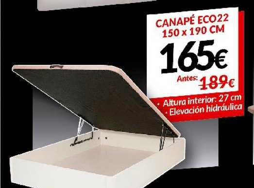 Embargos A Lo Bestia Canapé Eco22 150 X 190 Cm